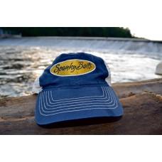 Blue Trucker Style Hat