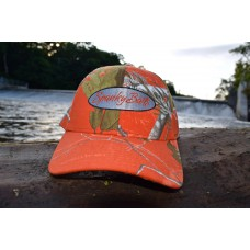 Orange Camouflage Hat