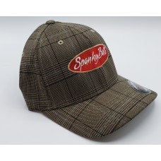 Hat-Brown Plaid